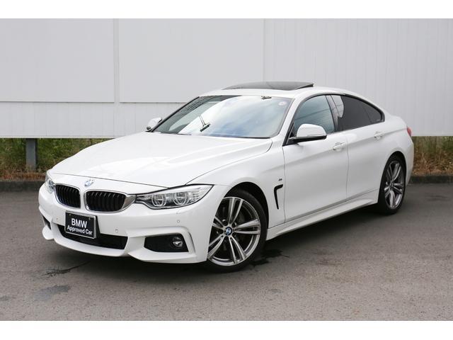 BMW 4シリーズ 435iグランクーペ Mスポーツ サンルーフ ヘッドアップディスプレイ LED アクティブクルーズコントロール ブラックレザーシート 弊社下取1オーナー 禁煙