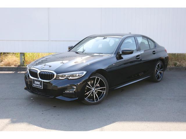BMW 3シリーズ 320d xDrive Mスポーツ 弊社デモカー 禁煙車 デビュー&コンフォートパッケージ ドライビング&パーキングアシスト 19インチホイール トップビューカメラ 全方位センサー 黒レザーシート/ヒーター付 Bluetooth/USB