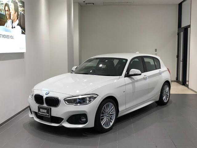 BMW 1シリーズ 118d Mスポーツ 弊社ユーザー様下取車 禁煙車 インテリジェントセーフティ HDDナビ DVD再生/Bカメラ/ETC アクティブクルーズコントロール 17インチアロイホイール 全方位センサー パーキングアシスト