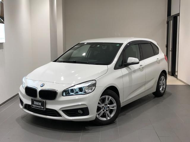 BMW 218iアクティブツアラー 弊社下取車輌ワンオーナー 禁煙車 HDDナビ DVD再生/Bluetooth/USB バックカメラ/センサー 前後ドライブレコーダー ミラーETC アイドリングストップ SOS 16インチアルミ
