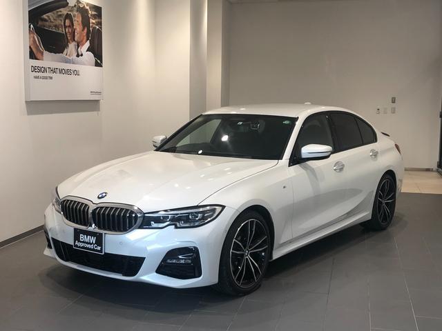 BMW 320d xDrive Mスポーツ 弊社下取車 ワンオーナー 禁煙車 デビューパッケージ ブラックレザーシート インテリセーフティ トップビュー全方位センサー/カメラ 19インチアロイホイール 地デジTV シートヒーター Pアシスト