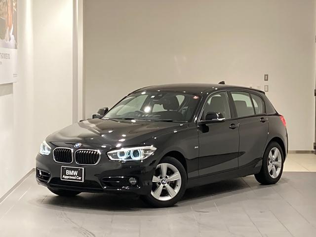 BMW 1シリーズ 118i スポーツ 後期モデル 純正HDDナビ バックカメラ インテリジェントセーフティ 禁煙車 LEDヘッドライト 16インチAW ミラーETC クルコン アイドリングストップ マルチファンクションステアリング