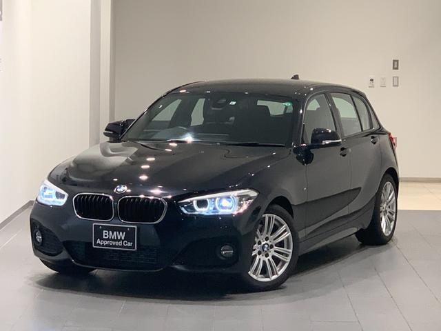 BMW 1シリーズ 118d Mスポーツ 後期モデル 17インチAW LEDヘッドライト 衝突軽減ブレーキ バックカメラ 後方センサー 純正HDDナビ 弊社下取車両 アイドリングストップ マルチファンクションステアリング