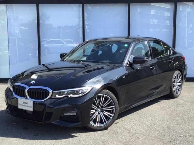BMW 3シリーズ 320i Mスポーツ 弊社デモカー トップビューカメラ コンフォートパッケージ アクティブクルーズコントロール 全方位センサー シートヒーター 電動トランク レーンアシスト 18インチAW LEDヘッドライト 禁煙