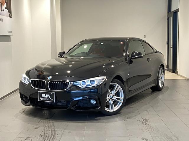 BMW 420iクーペ Mスポーツ レッドレザーシート 禁煙車 シートヒーター バックカメラ 後方センサー パドルシフト インテリジェントセーフティ 18インチAW 純正HDDナビ パドルシフト 社外地デジ コンフォートアクセス