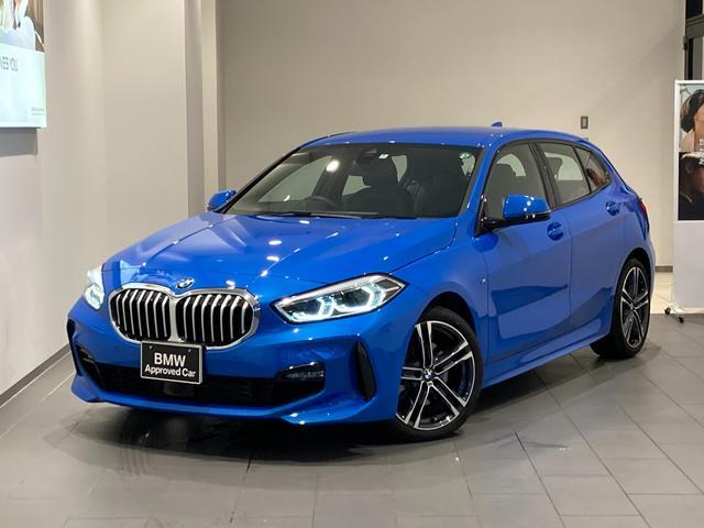 BMW 1シリーズ 118i Mスポーツ 弊社デモカー アクティブクルーズコントロール 禁煙車 ドライビングアシスト パーキングアシスト 電動リアゲート バックカメラ 前後センサー LEDヘッドライト 18インチAW  ハーフレザーシート