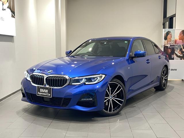 BMW 320d xDrive Mスポーツ 弊社下取車両 1オーナー禁煙車 HDDナビ/USB デビューPKG ブラックレザーシート レーザーライト 全方位カメラ 電動トランク 19インチAW アクティブクルーズコントロール シートヒーター