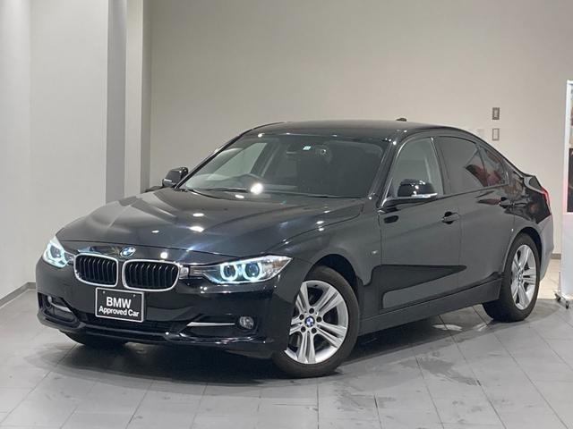 BMW 3シリーズ 320dブルーパフォーマンス スポーツ 弊社下取車輌 スポーツAT 禁煙車 パドルシフト 電動シート Bluetooth/USB/AUX 純正HDDナビ ETC搭載ミラー 17インチAW コンフォートアクセス キセノン アイドリングストップ