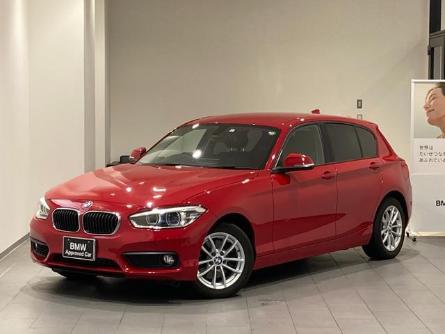 BMW 1シリーズ 118i 後期モデル 弊社下取車両 禁煙車 社外地デジ バックカメラ 後方センサー LEDヘッドライト 16インチAW マルチファンクションステアリング 純正HDDナビ ミラーETC アイドリングストップ