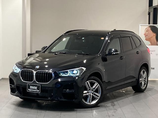 BMW X1 sDrive 18i Mスポーツ 後期モデル 前車追従機能 オートトランク 禁煙車 バックカメラ 前後センサー 衝突軽減ブレーキ Bluetooth LEDヘッドライト 18インチAW 電動シート アイドリングストップ 純正HDDナビ