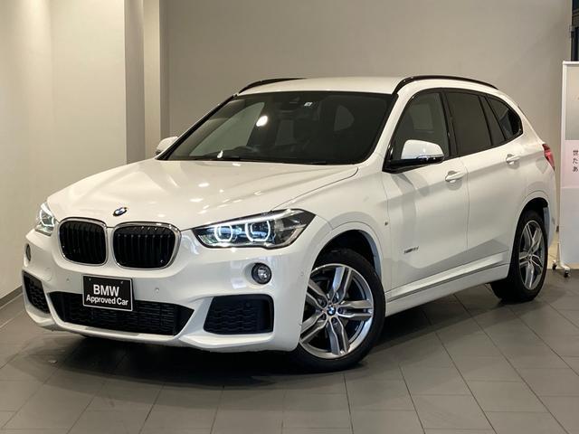 BMW X1 xDrive 18d Mスポーツ オートトランク 禁煙車 18インチAW バックカメラ 前後センサー Bluetooth/USB アルカンタラシート 衝突軽減ブレーキ LEDヘッドライト CD/DVD 純正HDDナビ ETC搭載ミラー