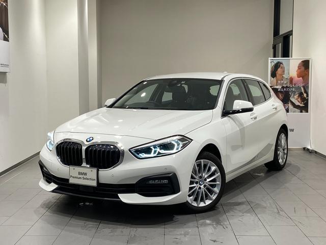 BMW 118d プレイ エディションジョイ+ ハイラインP ブラックレザーシート 17インチAW 弊社デモンストレーションカー 禁煙車 前車追従機能 パーキングアシスト バックカメラ/前後センサー 純正HDDナビ Bluetooth/USB オートトランク