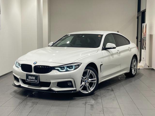 BMW 4シリーズ 420iグランクーペ Mスポーツ 四輪駆動 後期モデル フロントカーボンスポイラー 禁煙 アルカンターラ電動シート 液晶メーター バックカメラ 前後センサー ブラックキドニーグリル Bluetooth/USB 衝突軽減ブレーキ LED