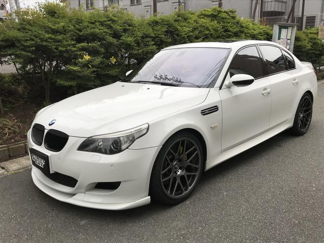 BMW M5 左ハンドル サクラムマフラー KW車高調 K&N