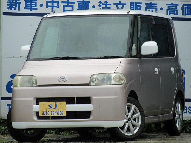 ダイハツ タント Rターボ コラムAT (車検整備付)