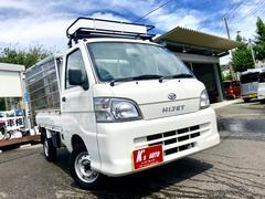 ハイゼットトラックエアコン・パワステ スペシャル オートマ4WD キャリア付