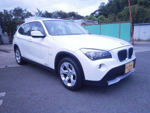 BMW X1 sDrive 18i ハイラインパッケージ 黒革パワーシート ETC プッシュスタート 純正AW スマートキー