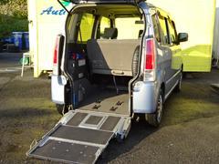 ワゴンR4人乗福祉車両 スロープ付車いす移動車 キーレス Tチェーン