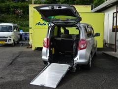 ラクティスX スローパー車イス仕様 電動車高調整 BカメSDナビ地デジ