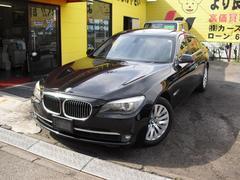 BMW740i コンフォPKG 黒本皮 SR ナビTV Bカメラ
