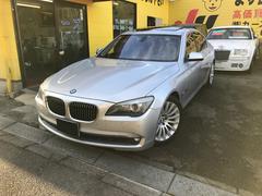 BMW750i 黒本革・SR・ナビ・TV・Bカメラ