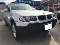 BMW X32.5i 4WD AW オーディオ付 5名乗り クロカン