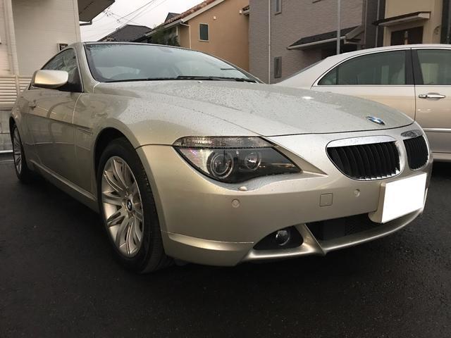 BMW 630i サンルーフ ETC AW オーディオ付 クルコン