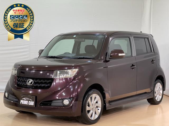 トヨタ bB Z エアロパッケージ ・ナビ・フルセグ・Bluetooth・キーレス・オートエアコン・電動格納ミラー・エアバッグ・パワーウインドウ・純正アルミ・ABS