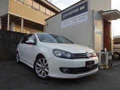 VW ゴルフTSIハイライン 純正エアロ HDDナビ 地デジ タイヤ新品