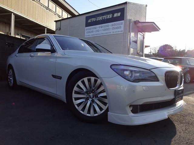 BMW 750i Fリップ ローダウン 純正HDDナビ 地デジ