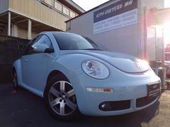 VW ニュービートルワンオーナー 社外HDDナビ 地デジ 革調シートカバー