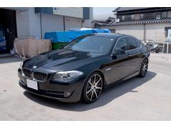 BMW523i 社外20inc 社外マフラー ローダウン