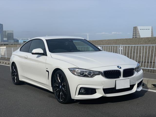 BMW 420iクーペ Mスポーツ 20インチAW ナビ ETC