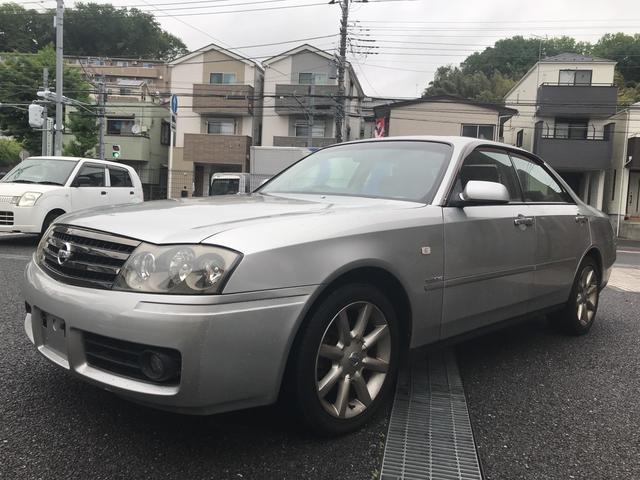 日産 グランツーリスモ300アルティマ- 純正ナビ