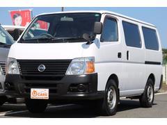 キャラバンロングDX 軽油ターボ 切替式4WD 5ドア低床 キーレス