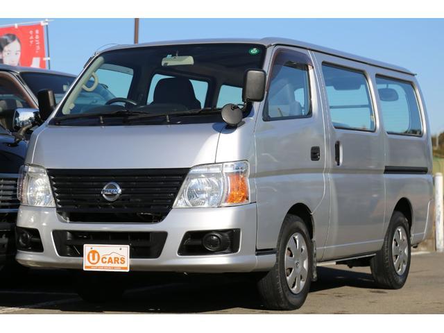 日産 ロングDX 5AT ガソリン 5ドア 6人乗 キーレス