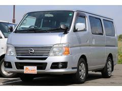 キャラバンロングGX 軽油ターボ NOx適合 5ドア低床 HDDナビ