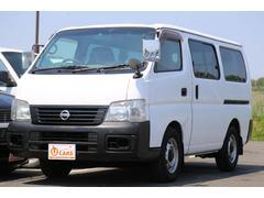 キャラバンロングDX 軽油ターボ 4WD 5ドア HDDナビ キーレス