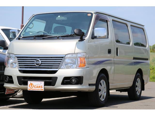 日産 ロングGX 切替式4WD 軽油ターボ NOx適合 HDDナビ