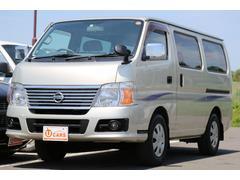 キャラバンロングGX 切替式4WD 軽油ターボ NOx適合 HDDナビ