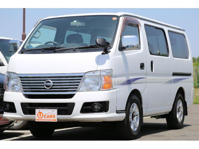 日産 ロングGX ガソリン 5AT NOx適合 社外AW キーレス
