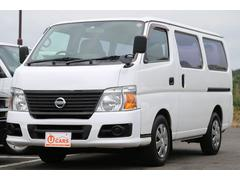 キャラバンロングDX 軽油ターボ NOx適合 5ドア低床 ETC CD