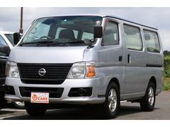 キャラバンロングDX 軽油ターボ NOx適合 5ドア低床 ETC