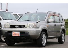 エクストレイルS ユーザー買取車 4WD 純正キーレス 社外ホイール