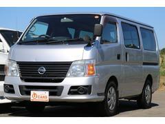 キャラバンロングスーパーDX 軽油ターボ NOx適合 5ドア低床 ナビ