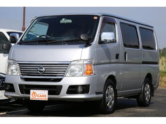 日産 ロングGX 軽油ターボ 5ドア低床 NOx適合 Wエアコン