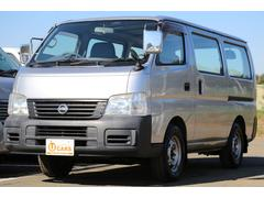 キャラバンロングDX軽油ターボ 切替式4WD 5ドア低床 ETC