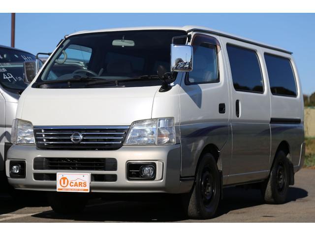 日産 ロングGX 軽油ターボ NOx適合 5ドア低床 ナビ ETC