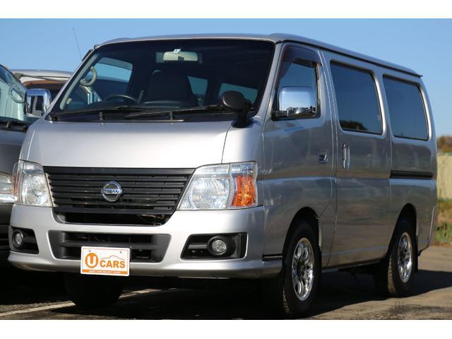 日産 ロングDX 軽油ターボ NOx適合 5ドア低床 ナビ