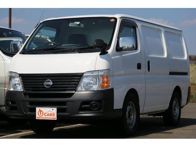 日産 ロングDX 軽油ターボ 切替式4WD 保冷車 ナビ Bカメラ